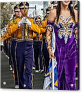 Lsu Marching Band 5 Acrylic Print