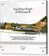 Ltv Ling Temco Vought A-7d Corsair II Acrylic Print