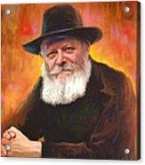 Lubavitcher Rebbe Acrylic Print