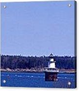 Lubec Channel Lighthouse Acrylic Print