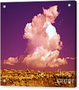 Lubriano, Italy, Infrared Photo Acrylic Print