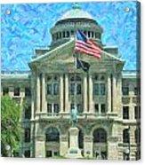 Lucas County Court House Acrylic Print