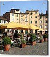 Lucca Piazza Del Mercato  Acrylic Print