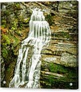 Lucifer Falls Treman Park Acrylic Print
