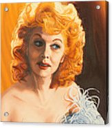 Lucille Desiree Acrylic Print