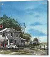 Lucille's On Route 66 Acrylic Print