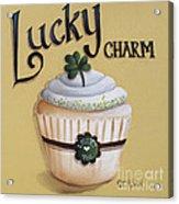 Lucky Charm Cupcake Acrylic Print