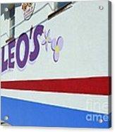 Lucky Leo's Acrylic Print