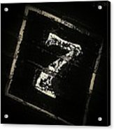 Lucky Number Seven Acrylic Print