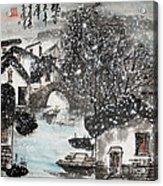 Lucky Snow  Acrylic Print