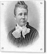 Lucretia Garfield (1832-1918) Acrylic Print