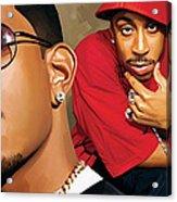 Ludacris Artwork Acrylic Print