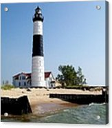 Ludington Michigan's Big Sable Lighthouse Acrylic Print
