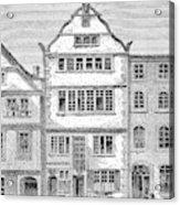 Ludwig Van Beethoven  Birthplace Acrylic Print