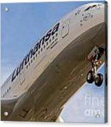 Lufthansa Airbus A-380 Acrylic Print