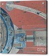 Lug Nut Wheel Left  Acrylic Print