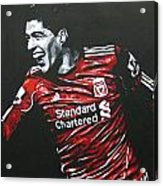 Luis Suarez - Liverpool Fc 2 Acrylic Print