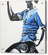 Luis Suarez - Uraguay Acrylic Print