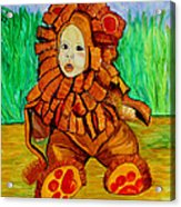 Lukas The Lion Acrylic Print