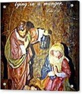 Luke 2 12 Acrylic Print