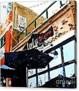 Lulu Asian Bistro Acrylic Print by Tom Riggs
