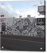 Lulu's Street  Acrylic Print