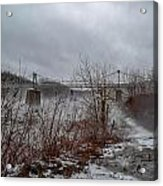 Lumberville Bridge Bucks County Acrylic Print