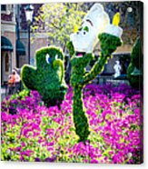 Lumiere And Chip Acrylic Print