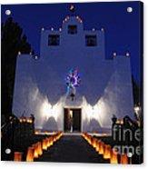 Luminarias At St Francis De Paula Acrylic Print