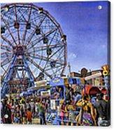 Luna Park 2013 - Coney Island - Brooklyn - New York Acrylic Print