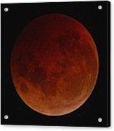 Lunar Eclipse Acrylic Print
