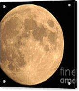 Lunar Mood Acrylic Print