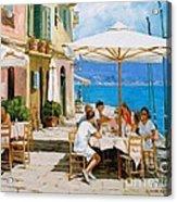 Lunch In Portofino Acrylic Print