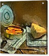 Lunch In Times Of Crisis Acrylic Print