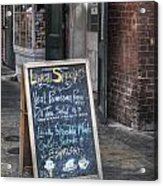 Lunch Specials Acrylic Print