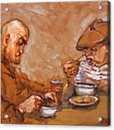 Lunchtime At Tim  Acrylic Print