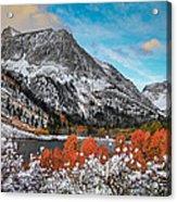 Lundy Lake Sunrise Acrylic Print