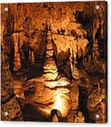 Luray Caverns - 1212118 Acrylic Print by DC Photographer