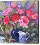 Luscious Roses Acrylic Print