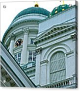 Lutheran Cathedral Of Helsinki-finland Acrylic Print