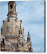 Lutheran Church In Dresden Acrylic Print