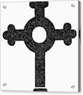 Lutheran Cross Acrylic Print