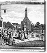 Lutheran Wedding, 1700s Acrylic Print by Granger