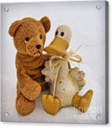 Luv A Duck Acrylic Print