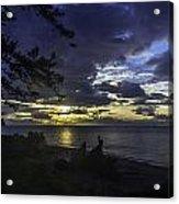 Luv U Blu Acrylic Print