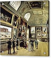 Luxembourg Palace. One Of Its Halls Acrylic Print
