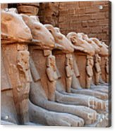 Luxor Temple 3 Acrylic Print