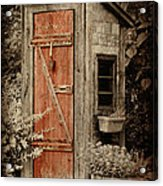 Luxury Outhouse Acrylic Print