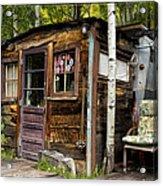 Luxury Ski Lodge In Telluride Co Dsc07461 Acrylic Print