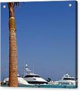 Luxury Yachts 03 Acrylic Print